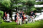 Re-enactment of the Battle at Red Bank